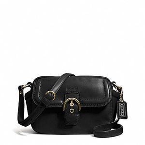 CAMPBELL LEATHER CAMERA BAG (COACH F25150
